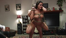 BDSM fetish threesome with dolls outonido