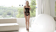 Blond Teen Pounded By Her Best Friend