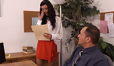 Lou Charmelle and Arya Rose hitchhike and got fucked