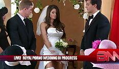 Mofos Hardcore Anal Fucking Playing With Girls Wedding Day